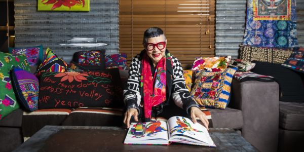 Personal Space At Home With Renowned Fashion Designer Jenny Kee