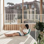 The gloomy Melbourne terrace extended for light, space and teenagers
