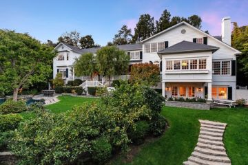 Inside Ashton Kutcher and Mila Kunis' $21 million Beverly Hills mansion