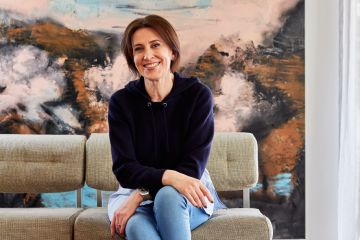 At home with award-winning journalist and radio presenter Virginia Trioli