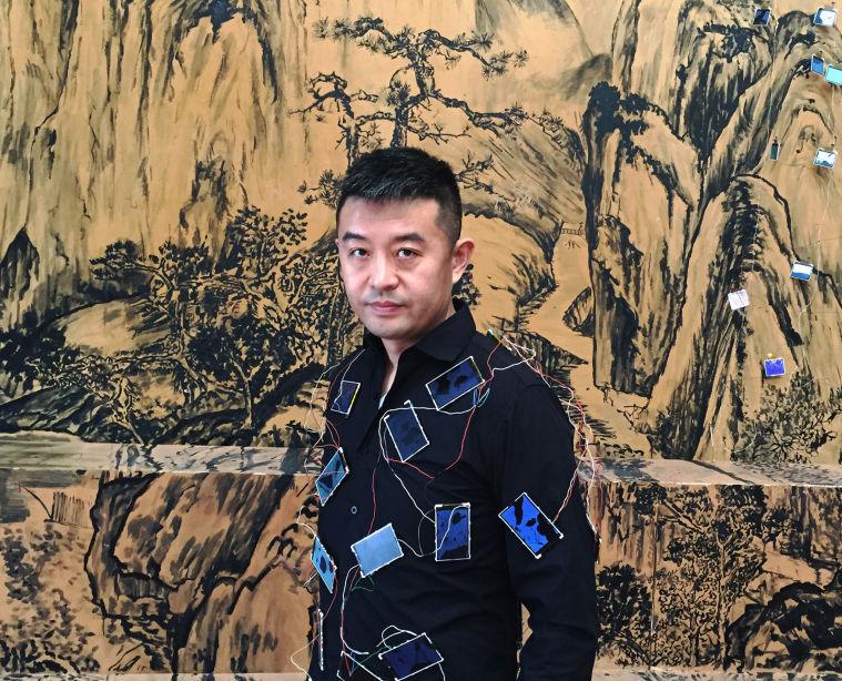 Chinese photographer Liu Bolin.