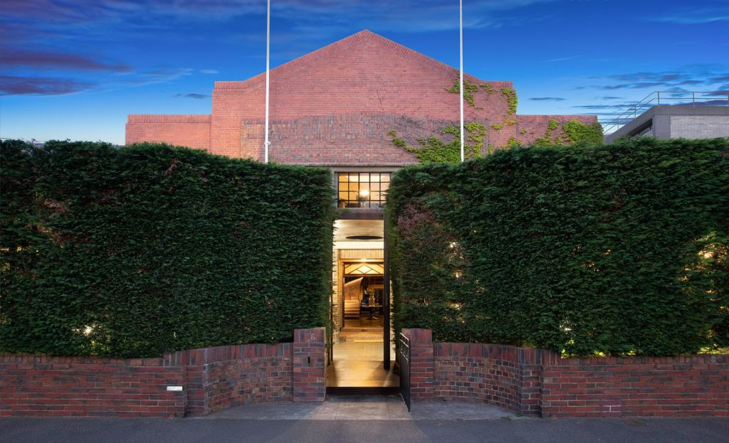 16 George Street, Fitzroy, a former army barracks is up for sale.