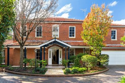 Five-bedroom Sydney townhouse sells for $4.55m as buyers try to beat competition