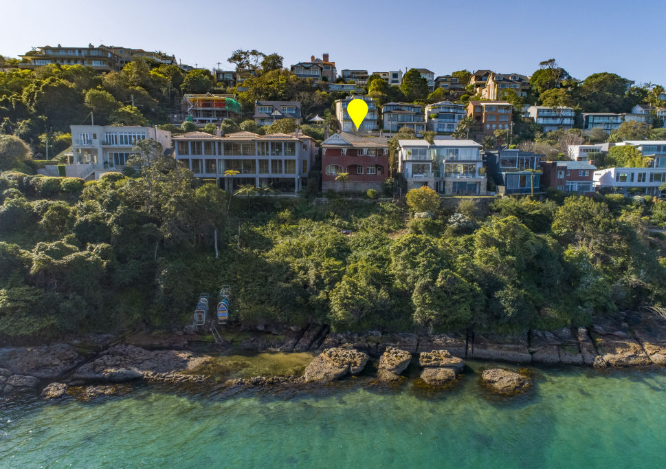 Peter Wiggs bought 42 Iluka Road Mosman