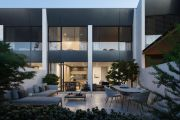 Boutique collection of only five townhouses in Turner on the market