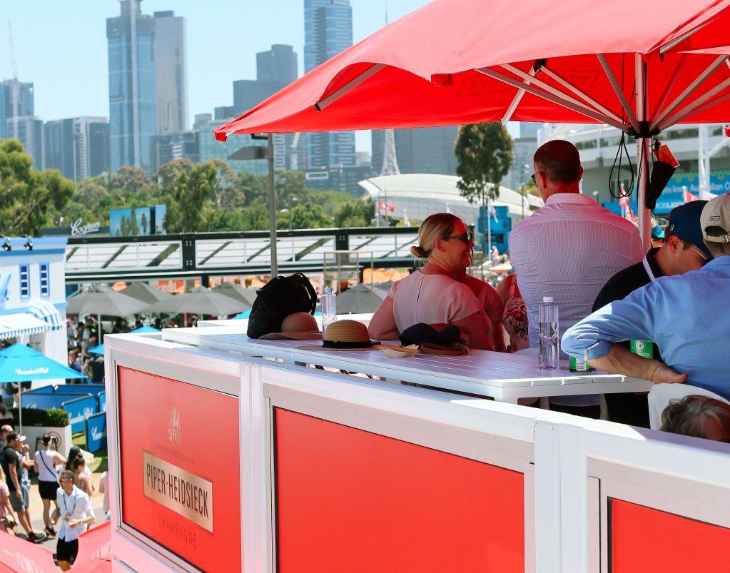 Australian Open Piper Heidsieck
