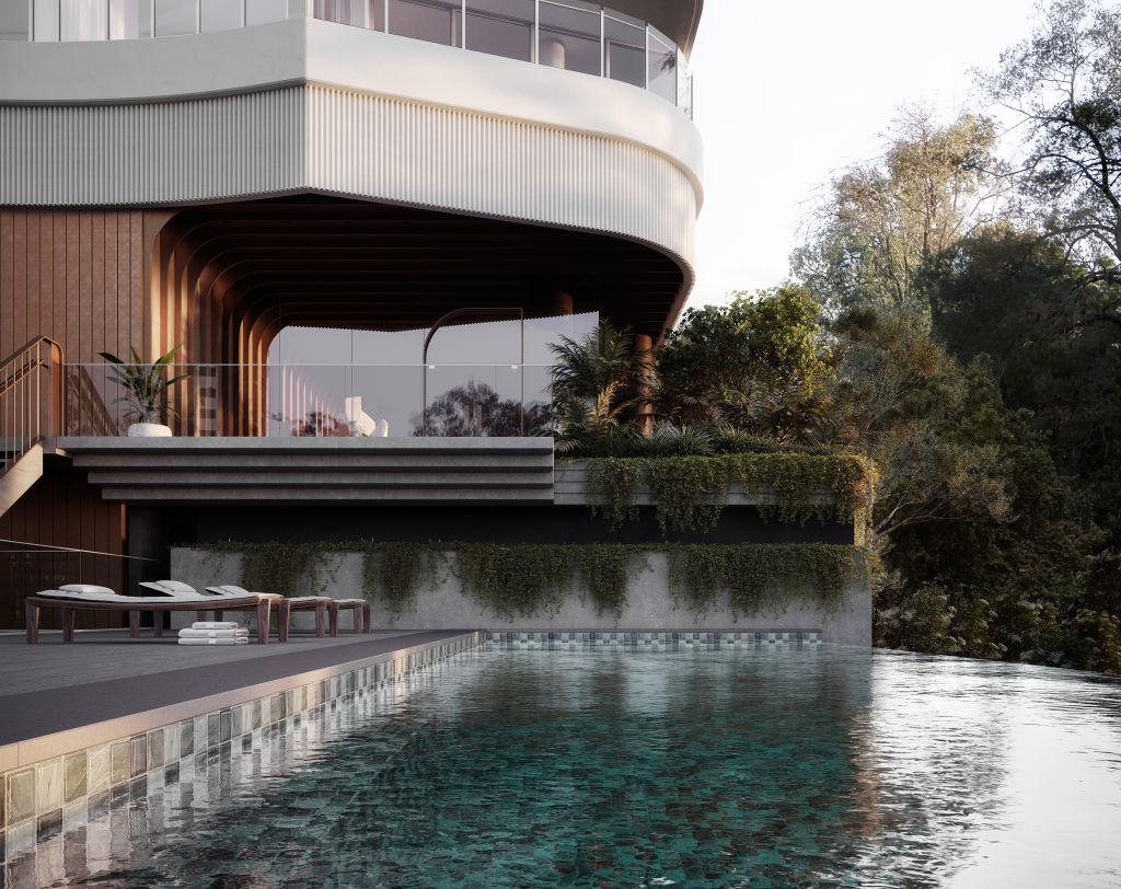 St Lucia Brisbane pool render_Sep 2020