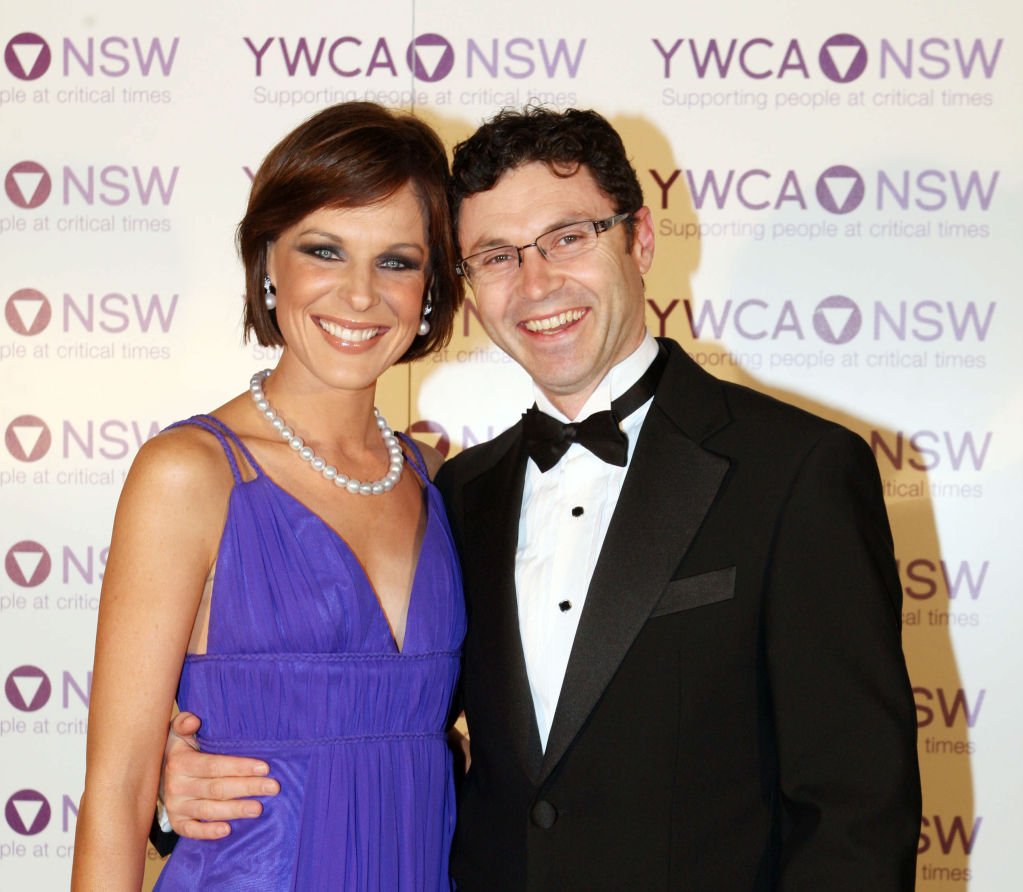 Natarsha Belling and Glen Sealey