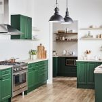 Forest green and cottagecore: The trends influencing kitchen design in 2021