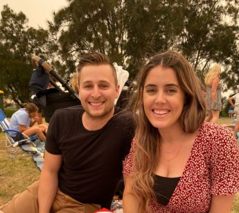 Simon and Olivia Moore made the move from Sydney to Bowral in the NSW southern highlands with their son Zayne.
