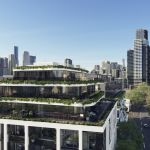 This new West Melbourne development features an 'indoor jungle'