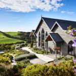 A country retreat built from the remains of an 1876 church