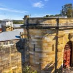 Historic jail built by convicts listed for sale