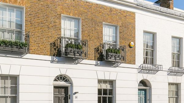 Mary Poppins writer's home has hit the London market