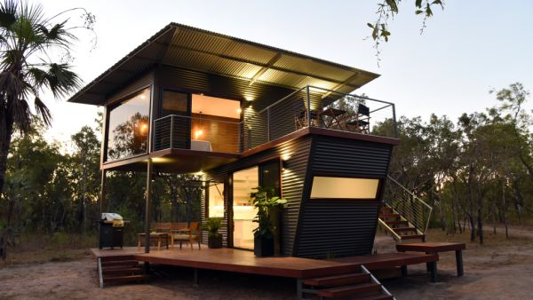 How one family turned shipping containers into a unique Northern Territory experience