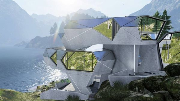 Architect designs bunker house for a post-apocalyptic future