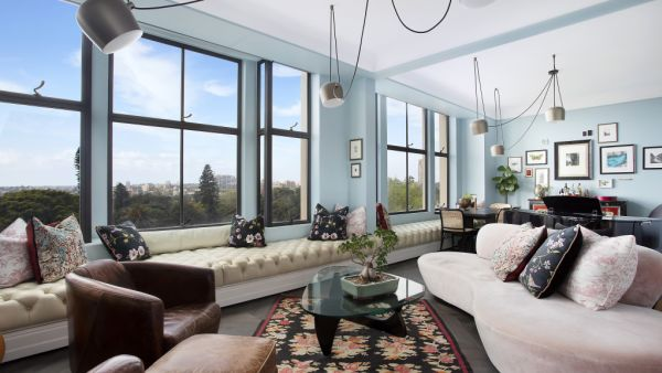 An elegant redesign of a two-bedroom apartment inside The Astor