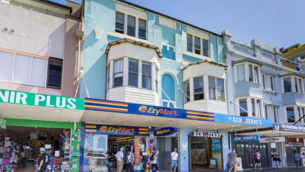 Ben & Jerry's building in Bondi Beach back on the market for second time this year
