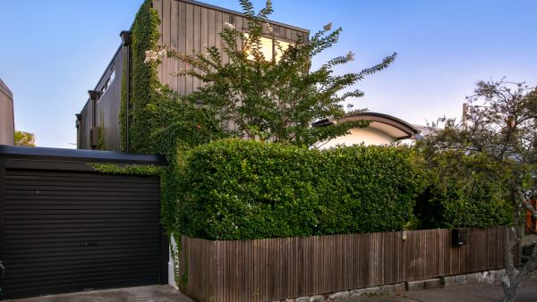 This strikingly rare contemporary home bucks the trend