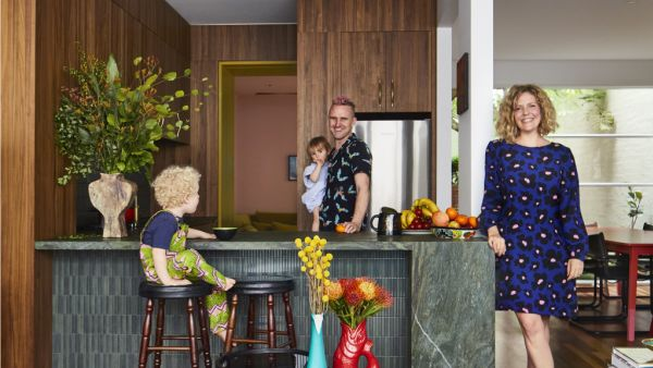 'We love anything bold': From tiny townhouse to colourful family retreat