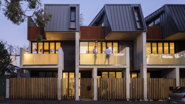 The 17-unit apartment block disguised as a two-level terrace