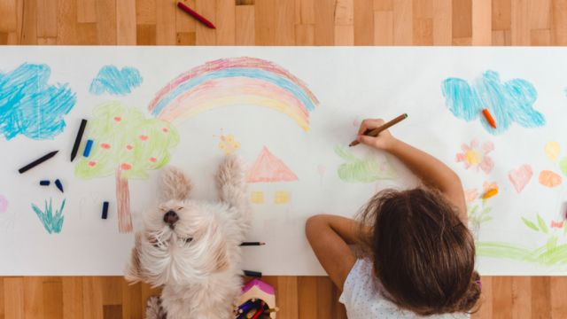 Dogs seem so much better house-trained than children