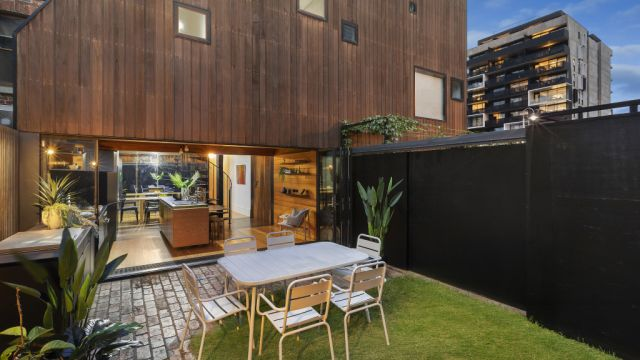 This terrace proves why you shouldn't judge a home by its facade