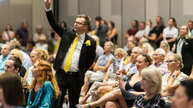 Bidders spend $40 million at Australia's biggest auction event