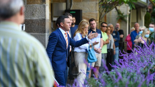 Young couple splashes $3,425,000 on Glebe three-bedder at auction