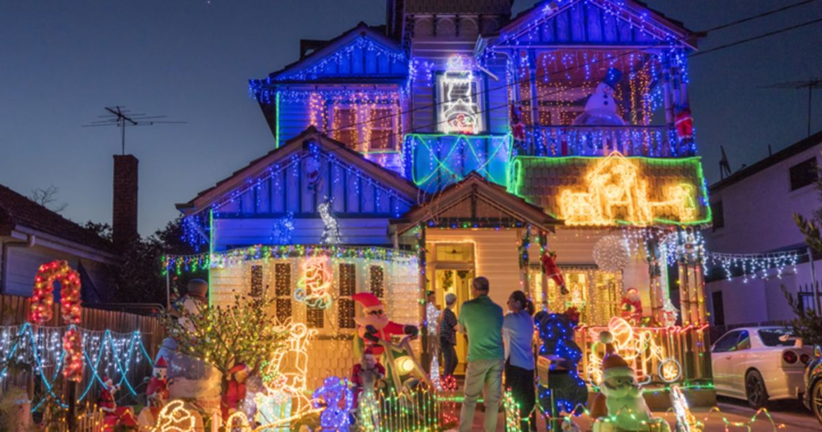 Best Christmas Lights Around Australia