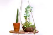 How to make a hanging plant tray