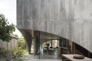 Inside an award-winning home that looks like a concrete bunker
