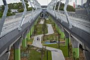 Melbourne's once-controversial sky rail project just won a top award