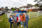 Retirees farewell painful memories after family home sells at auction