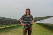 Hotel mogul launches solar farm in coal country
