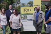 Two sisters sell their family home to two brothers at auction so they can be neighbours