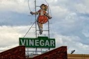 Iconic Skipping Girl building for sale