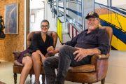 'It's crooked and wonderful': Inside artist David Bromley's 'glorified tree-house'