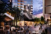 Alive at night: A look inside Belconnen's newest development complete with private sky park