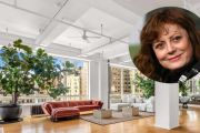 Inside the New York loft Susan Sarandon has lived in for 30 years