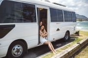 An old school bus became this couple's dream home