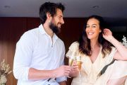 Megan Gale and fiance Shaun Hampson snap up popular Daylesford weekender