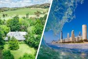 Sea and tree-change suburbs top list of most property sales in 2020