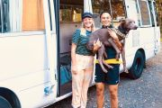 How this couple turned a $20,000 bus into their dream home