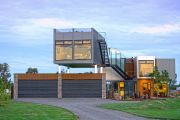 This incredible home is built entirely from shipping containers