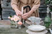 Five simple but stylish ways to set your dinner-party table