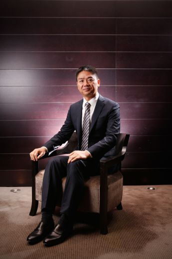 Richard Qiangdong Liu is the founder of Chinese internet company JD.com.  Image by Darrian Traynor.