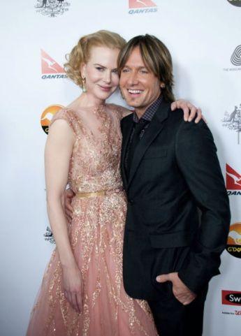 Keith Urban and Nicole Kidman at the G'Day USA Gala. Photo: Getty.