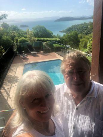 John and Juanita Matterson, who bought a villa on Hamilton Island.