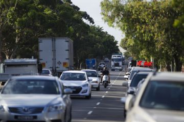 Tackling the city's transport woes: Sydney's congested suburbs